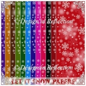 Let It Snow - Bold Papers