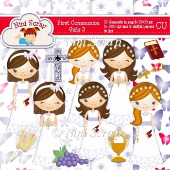 First Communion Girls 3