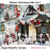 Winter Christmas Mix Set 1