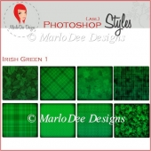 Irish Green 1 :: Photoshop Styles by MarloDee Designs