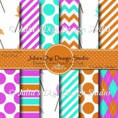 Pinwheel Parade Digital Paper Pack