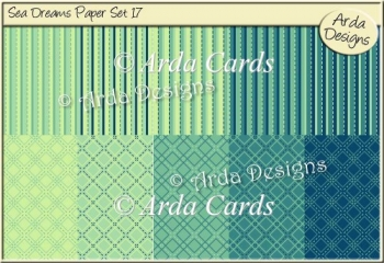 Sea Dreams Paper Set 17