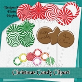 Christmas Candy Clipart