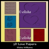 3D Love Papers