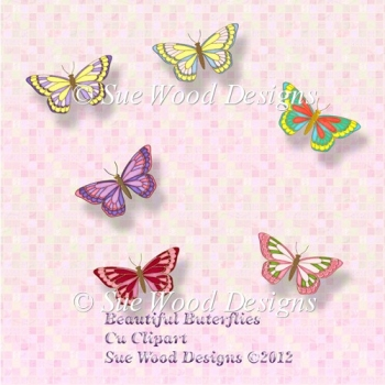Beautiful Butterflies cu Resource.