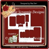 Triple Folded Card Template *PNG*