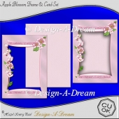 Apple Blossom Frame & Card Set