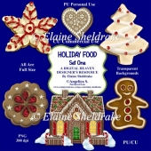 Christmas Holiday Foods - Set One - Designer Resource For CU PU
