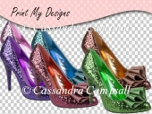 Ladies Glitter Shoes CU4CU