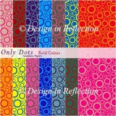 Only Dots Seamless Papers II - Bold Colors