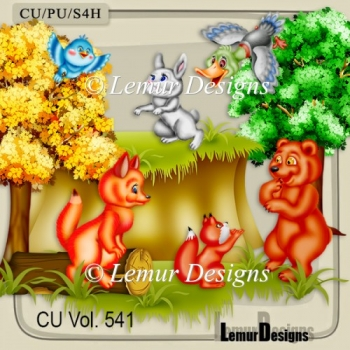 CU Vol. 541 Forest Animals