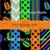 Guitar Hero Digital Paper Pack