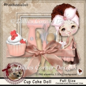 Cup Cake Doll
