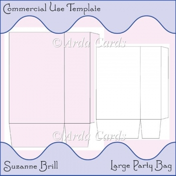 Commercial Use Party Bag Template