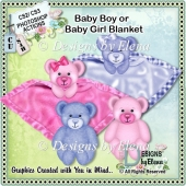 Baby Girl/ Boy Blanket PS Action