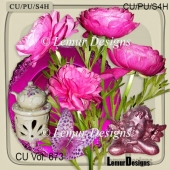 CU Vol. 673 Flowers Mix