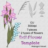 Bell Flowers Template