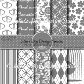 Wedding Belle Digital Paper Pack