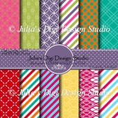 Matryoshka Digital Paper Pack