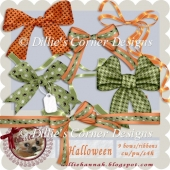 CU Halloween Bows and Ribbons