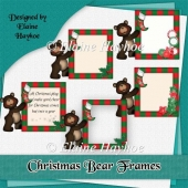 Christmas Bear Frames