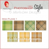 Irish Plaids 1 :: Photoshop Styles by MarloDee Designs