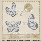 Butterfly Templates 3