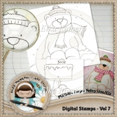 Digital Stamps - Vol 7