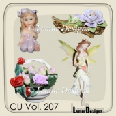 CU Vol. 207 Fairies by Lemur Designs