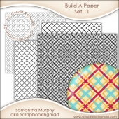 Build A Paper Set 11 - PNG FILES & .PAT File - CU OK