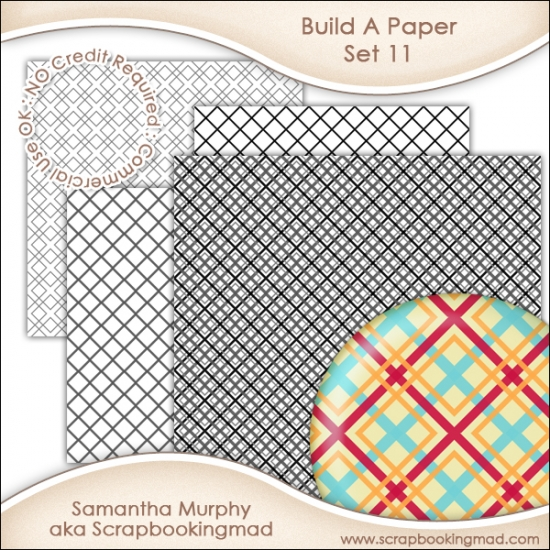 Build A Paper Set 11 - PNG FILES & .PAT File - CU OK - Click Image to Close