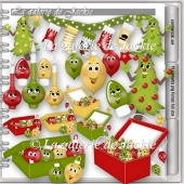 CU Funny Christmas Ornaments 4 FS by GJ