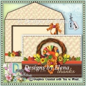 Autumn PSD Layered Card Front 04