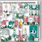 CU Christmas Candle 3 FS by GJ