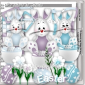 CU Adorable Easter Bunny 3 FS by GJ