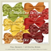 Fall Season 1 Digital Bows Package
