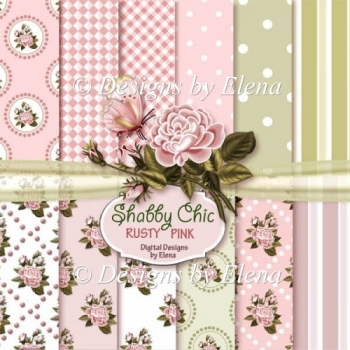 Shabby Chic Paper Pack 1 CU