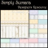 DESIGNERS RESOURCE Pastel Lace Papers