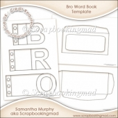 Bro Word Book Template