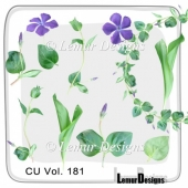 CU Vol. 181 flowers by Lemur Designs