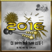 CU Happy New Year 2016 Template 2