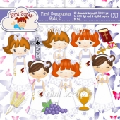 First Communion Girls 2