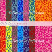 Only Dots Seamless Papers - Bold Colors