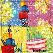 CU Vol. 006 Insect Birthday Party by Lemur Designs