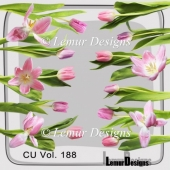 CU Vol. 188 flowers by Lemur Designs