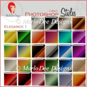 Beautiful Elegance 1 :: Photoshop Styles by MarloDee Designs