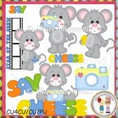 Say Cheese Mouse Designer Resource Graphics