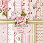 Shabby Chic Paper Pack 5 CU