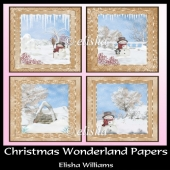 Christmas Wonderland Papers