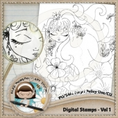 Digital Stamps - Vol 1